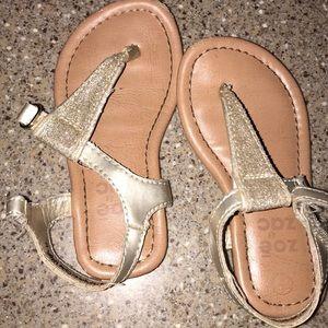 Other - Glitter girls sandal flip flops size 6
